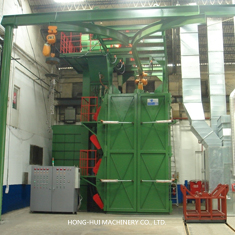 HH-568-8-A DOUBLE COLUMNS THE HOIST SAND BLAST MACHINE