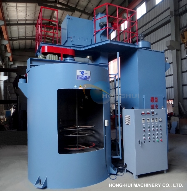 HH-868 SUSPENDED SAND BLAST MACHINE